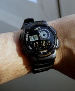 Invertir display LCD de un reloj