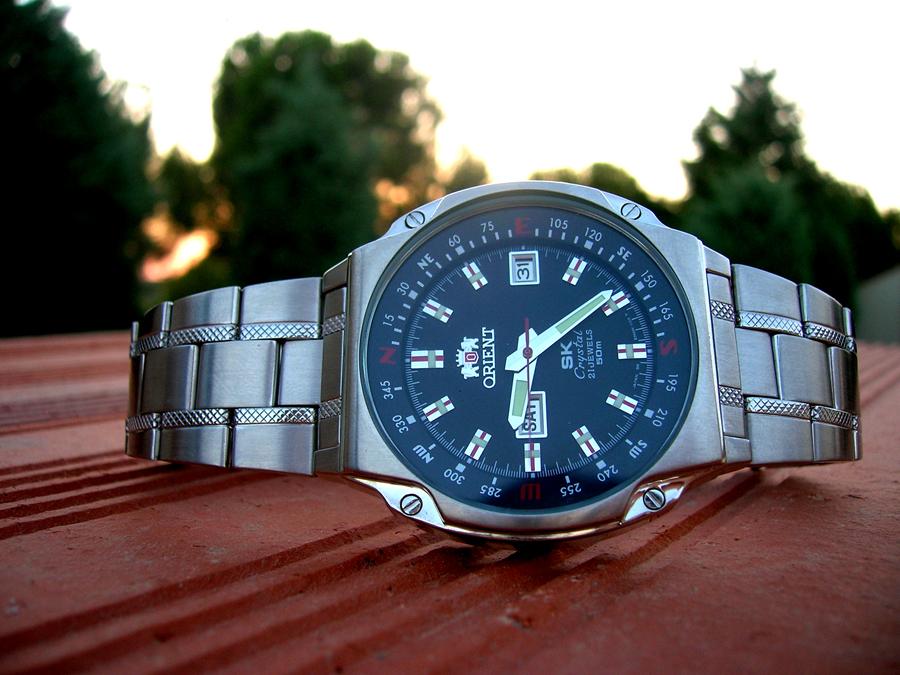 Наручные часы orient sk crystal 21 jewels.