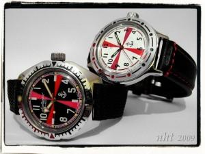 Los relojes rusos de Nht