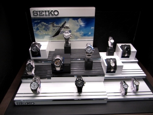 La boutique Seiko de Madrid