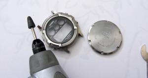 El Casio TGW 100 Trigraph de Ángel restaurado