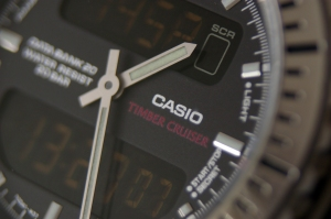 Casio Timber Cruiser ana-digi