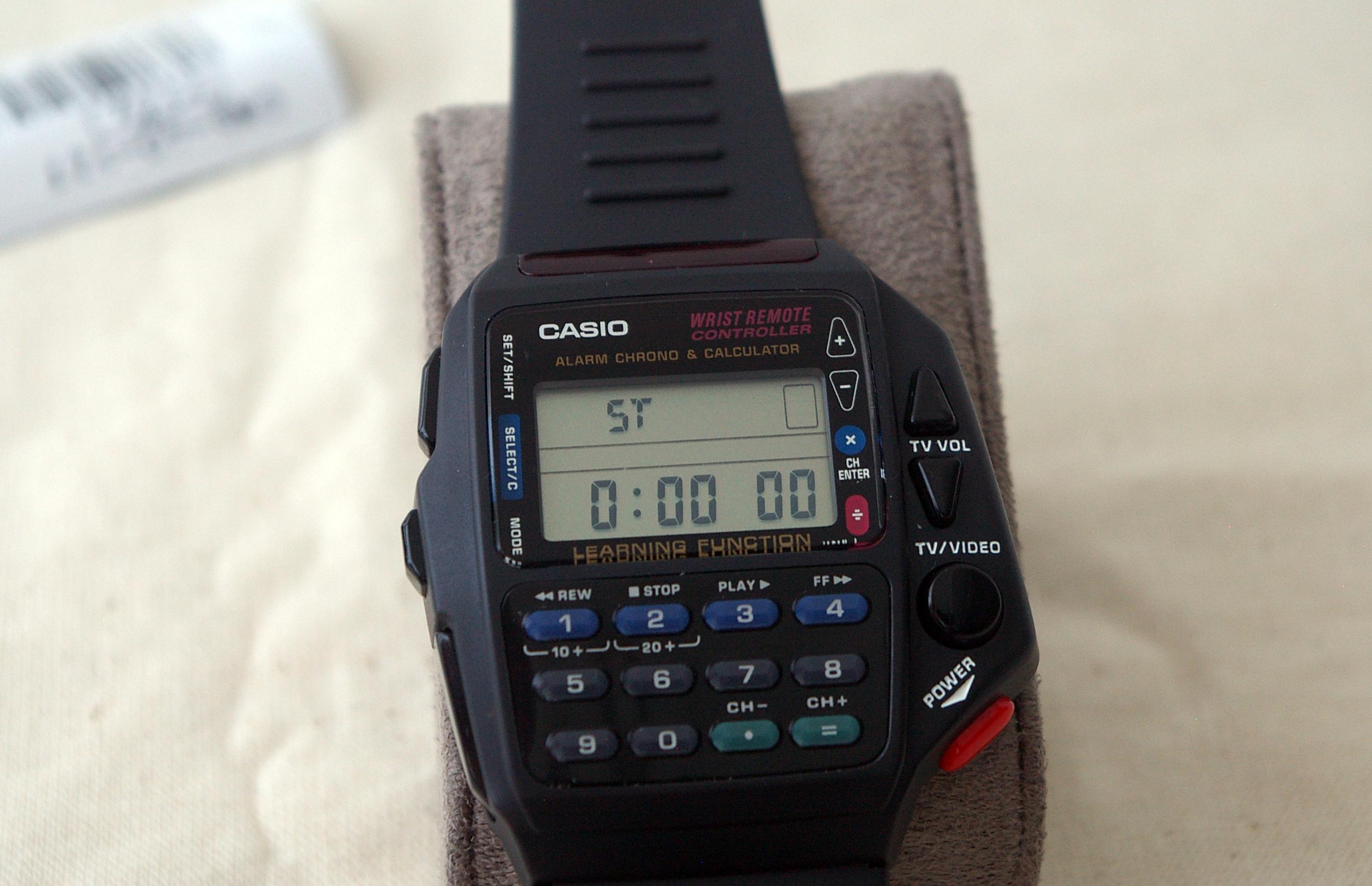 Reloj Casio Wrist Remote Controller Codigos